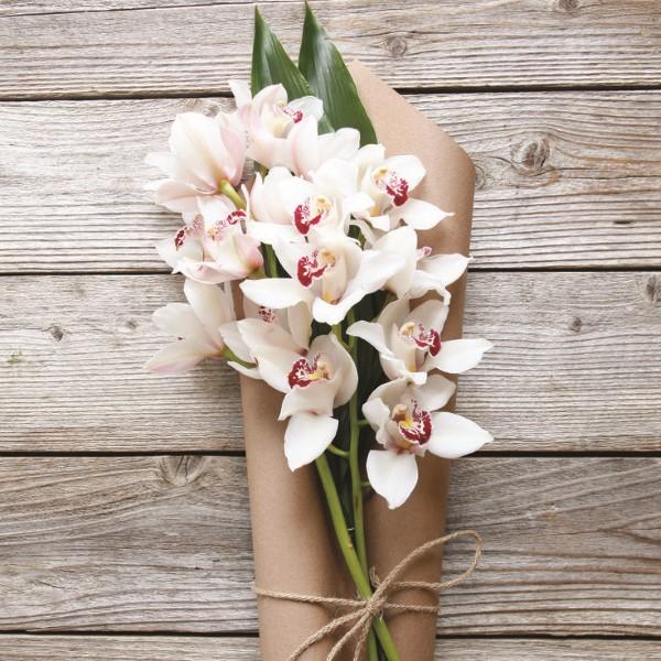 Blumenstrauß zum Muttertag selber binden – Die besten Blumenarten für Mama und Tipps orchideen strauß weiß muttertag