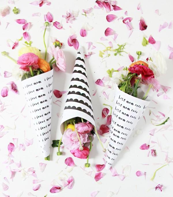 Blumenstrauß zum Muttertag selber binden – Die besten Blumenarten für Mama und Tipps schöne ideen für strauß mutti