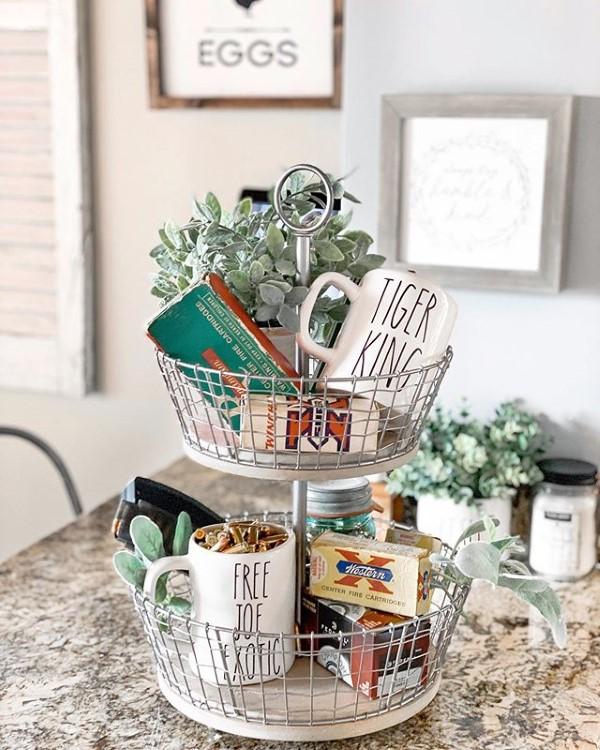 Etagere dekorieren – Ideen und Tipps für eine schöne und praktische Deko küche diy ideen