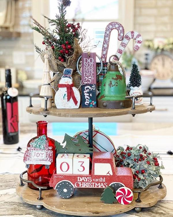 Etagere dekorieren – Ideen und Tipps für eine schöne und praktische Deko weihnachten ideen