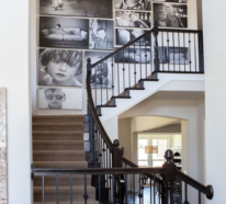 Fotowand im Treppenhaus? 25 Ideen, die begeistern und inspirieren