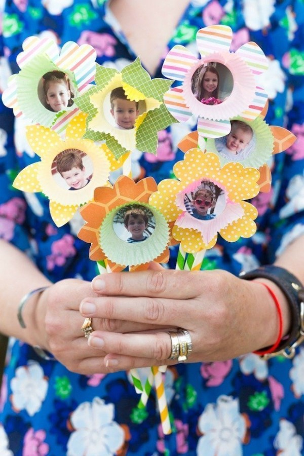 Frühlingsblumen basteln mit Kindern – Ideen und Anleitung für Anfänger und Profi-Bastler blumen kinder bilder