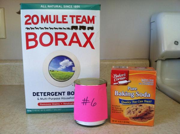 Geschirrspülmittel selber machen Borax verwenden