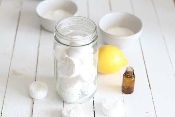 Geschirrspülmittel selber machen Zutaten mischen