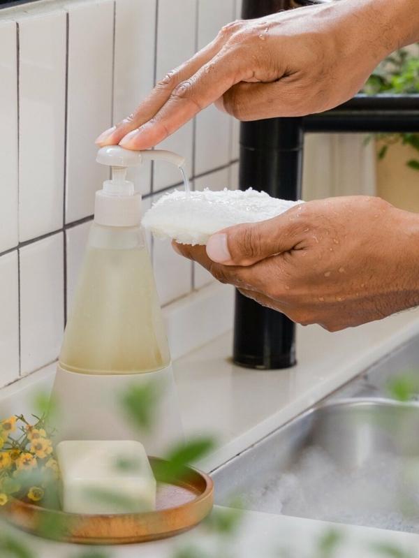 Geschirrspülmittel selber machen flüssiges DIY Geschirrspülmittel
