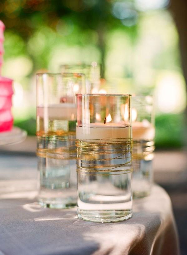 Glasvasen dekorieren – Ideen und Anleitung für künstlerisch begabte Bastler kerzenhalter vasen gläser