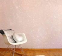 Glitzer Wandfarbe- Auffällig, gewagt und besonders