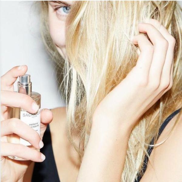 Haarparfüm verwenden Haartrends Ideen schöne Haare