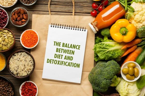 Körper entgiften Entgiftung Körper Ernährung Entgiftungskur
