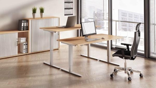 Nicht nur ein Trend, sondern Zukunft – Höhenverstellbare Schreibtische home office tisch