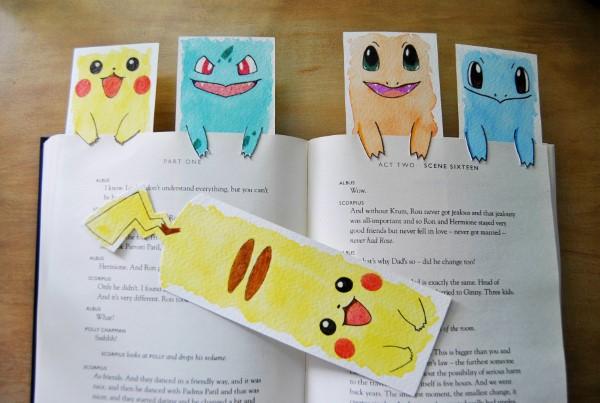 Pokemon basteln mit Kindern – fantastische Ideen und Bastelanleitung lesezeichen kinder diy