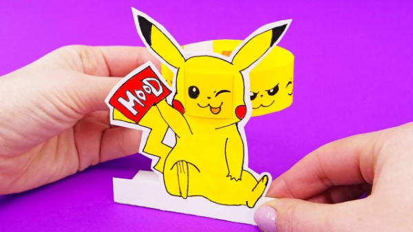 Pokemon basteln mit Kindern – fantastische Ideen und Bastelanleitung lustige bastel ideen