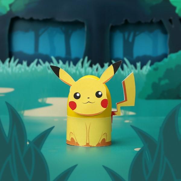 Pokemon basteln mit Kindern – fantastische Ideen und Bastelanleitung pikachu eier becher