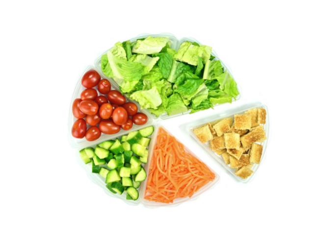Regel sich gesund ernähren abnehmen frisches Gemüse 80 Prozent Kohlenhydrate 20 Prozent