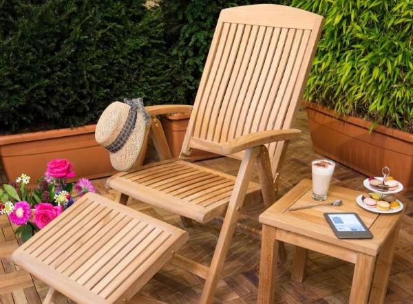 Teak Gartenmöbel und Sitzgruppen – Welche Vorteile bringen sie teakholz möbel outdoor schön honiggold