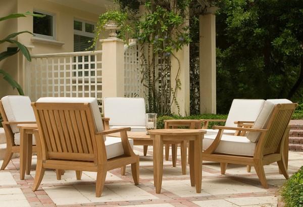 Teak Gartenmöbel und Sitzgruppen – Welche Vorteile bringen sie teakholz outdoor möbel schön