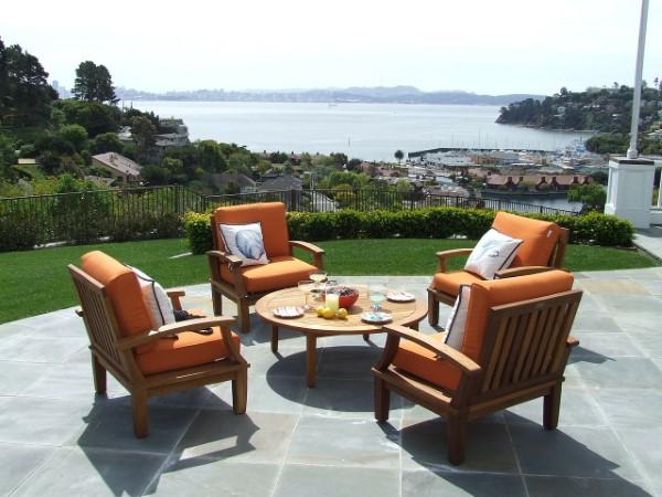 Teak Gartenmöbel und Sitzgruppen – Welche Vorteile bringen sie teakholz sitzgruppe outdoor möbel