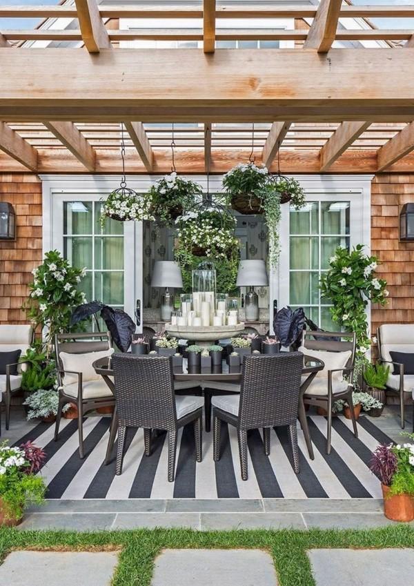Terrassen Gestaltungsmöglichkeiten – Ideen und Tipps für einen schönen Außenbereich sommer balkon veranda