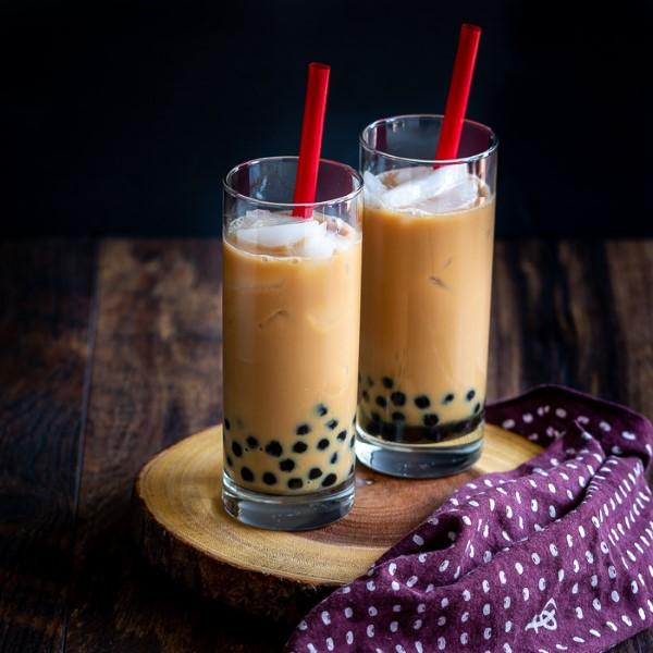 Trendiges Bubble Tea Rezept und köstliche Ideen zum Inspirieren chai kokosnuss milch idee