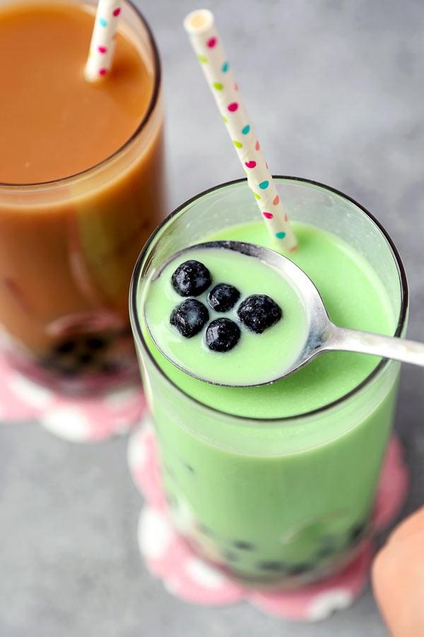 Trendiges Bubble Tea Rezept und köstliche Ideen zum Inspirieren grüne tee ideen