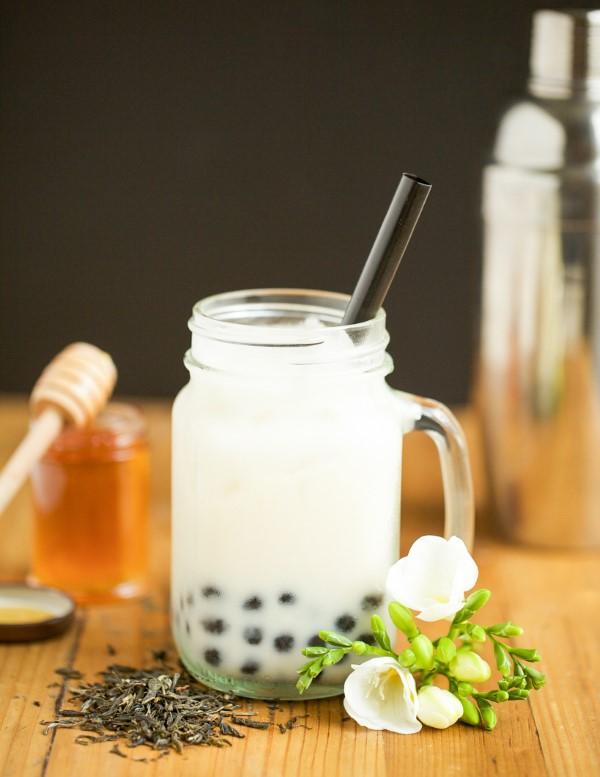 Trendiges Bubble Tea Rezept und köstliche Ideen zum Inspirieren jasmintee weiß honig idee