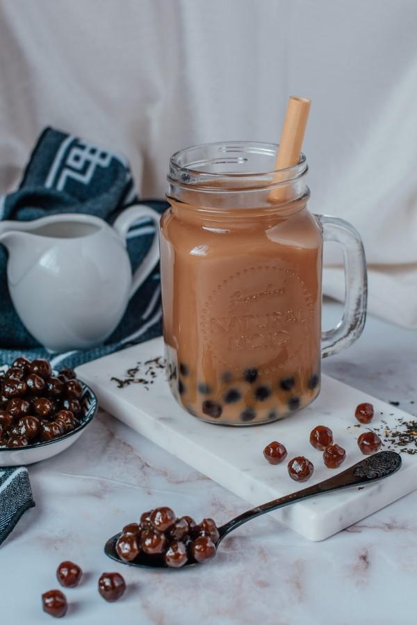 Trendiges Bubble Tea Rezept und köstliche Ideen zum Inspirieren kakao bubble idee