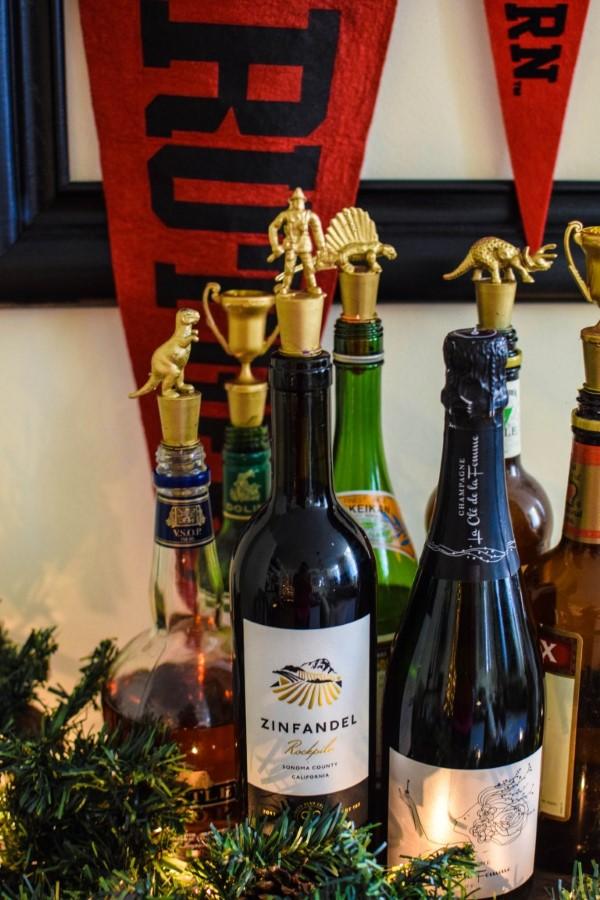 Vatertag Geschenk basteln – Wissenswertes und kreative Bastelideen flaschenkorken diy figuren