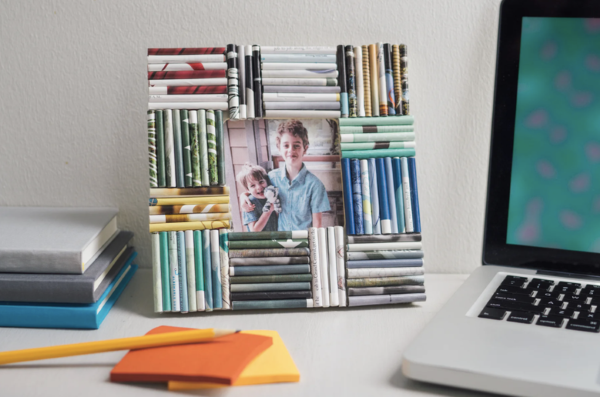 Vatertag Geschenk basteln – Wissenswertes und kreative Bastelideen fotorahmen diy kinder