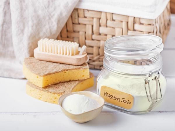 Waschsoda selber machen selbstgemachtes Waschmittel und Geschirrspülmittel