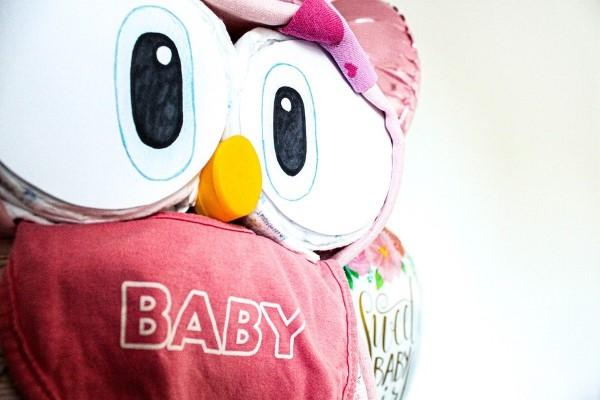 Windeleule basteln – Ideen und Anleitung für Ihre nächste Baby Shower Party baby windeltorte idee