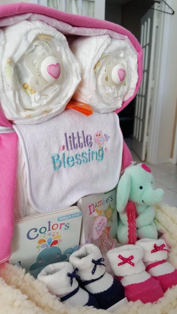 Windeleule basteln – Ideen und Anleitung für Ihre nächste Baby Shower Party windeltorte geschenk ideen