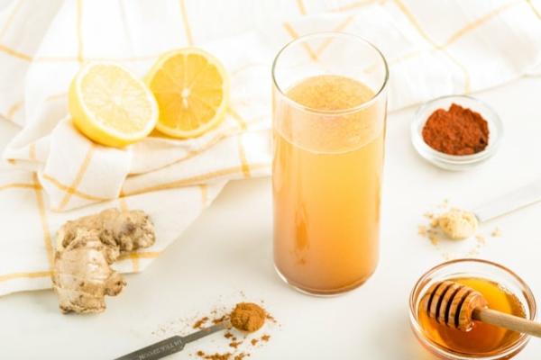 Zitronendiät Entgiftungsgetränk zubereiten Tipps