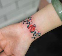 Armband Tattoo – 70 Ideen mit unterschiedlichen Motiven und Stechtechniken