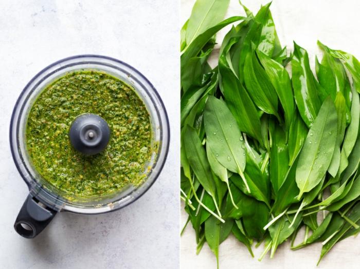 bärlauch rezepte vegan pastet
