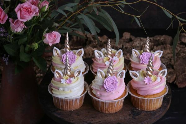 einhorn muffins kindergeburtstags party buffet