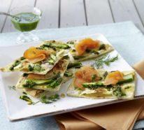 3 Rezepte mit grünem Spargel für ein gesundes Mittag- oder Abendessen