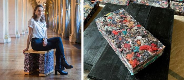 kleidung recycling bausteien deko ideen architektin frankreich
