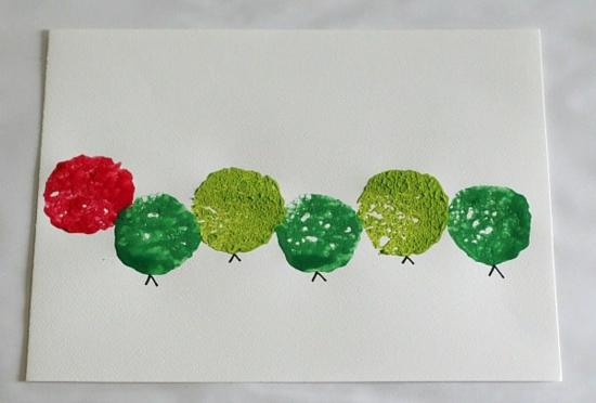 raupe basteln malen mit kindern