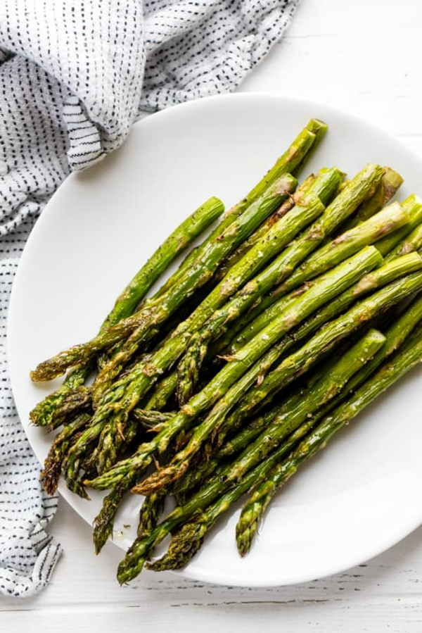 rezepte mit grünem spargel gebacken