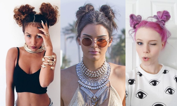 space buns festival frisuren