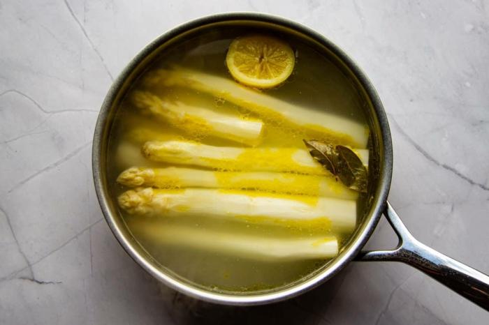weißer spargel rezepte kochen