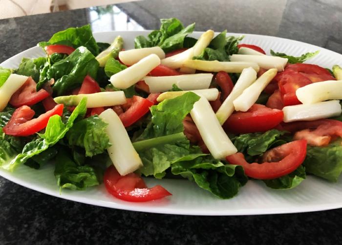 weißer spargel rezepte salat