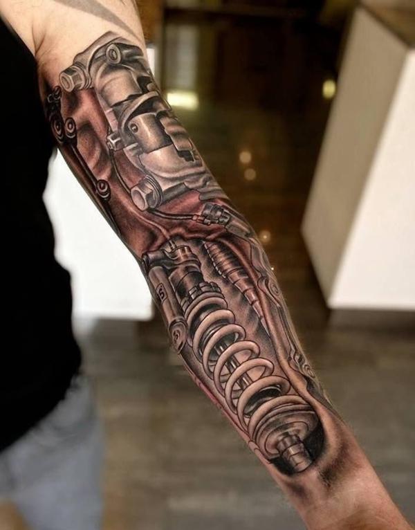Männer ganz arm tattoos Gallerphot: ganz