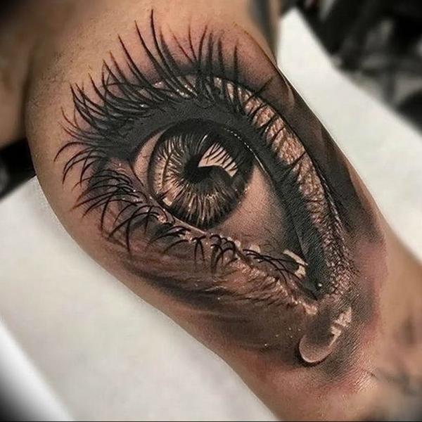 3d tattoo ideen oberarm