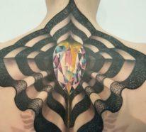 3D Tattoos – 90 der schönsten Motive, die sofort zu absoluten Hinguckern werden