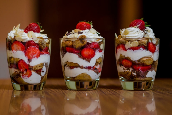 Erdbeer-Tiramisu im Glas laktosenfrei Rezeptideen