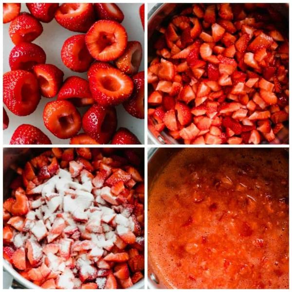 Erdbeermarmalade selber machen Rezept Schritt für Schritt