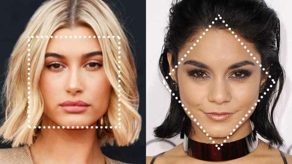 Frisuren für schmale Gesichter Gesichtsform bestommen