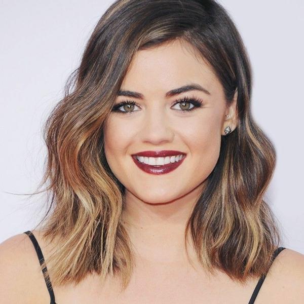 Frisuren für schmale Gesichter Gesichtsform herzförmig