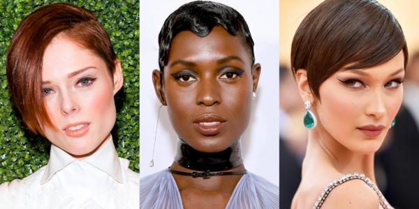 Frisuren für schmale Gesichter Haartrends 2021 Celebrities